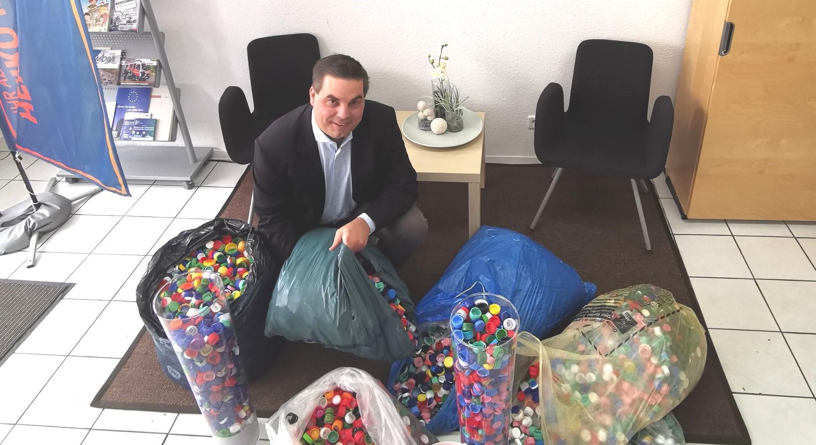 """CDU Ortsverband Kladow - Endspurt bei der Aktion """"Deckel"""